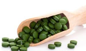 Superfoods Algen Chlorella Spirulina
