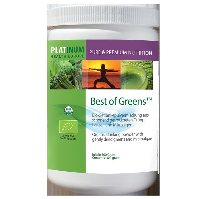 Platinum Health Europe Produkte Erfahrungen - Best of Greens